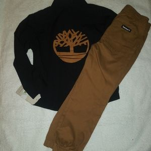 🆕Timberland | 2 Piece Outfit Boys size 5